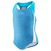 Speedo Infinity Splice Xtra Life Lycra Fiber Swimwear (7-16) (Deep Sapphire)