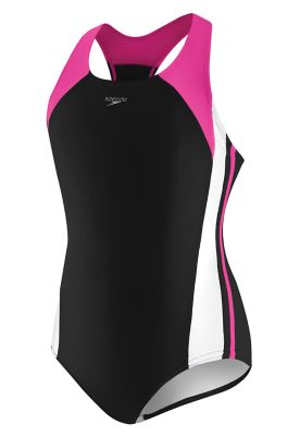 Speedo  Girls Infinity Splice (18-20)    : Black