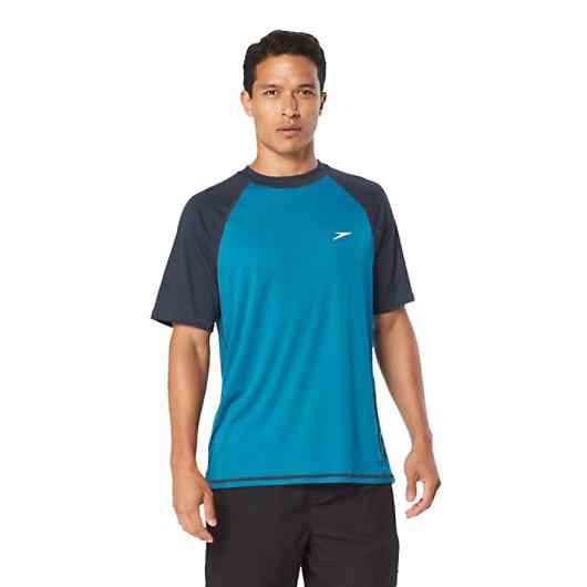 0f141f2c134e6 Easy Short Sleeve Swim Shirt | Speedo USA