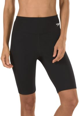 Speedo USA  Unisex Women's Jammer -  Endurance+ Fitness : Black: Endurance+ fabric 10'' inseam Fabric: 50% Polyester/50% PBT