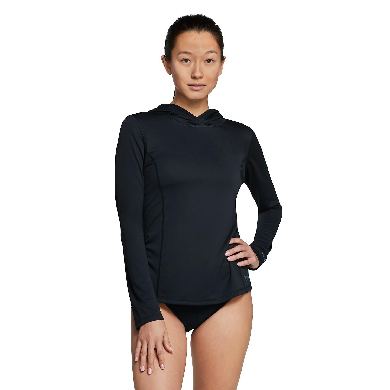 Speedo Women's Long Sleeve Hooded Swim Tee