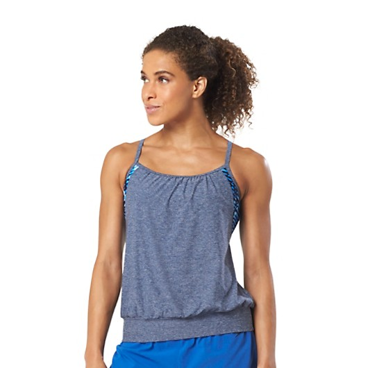 f5eab6418c Blouson Tankini Top - PowerFLEX Eco | Speedo USA