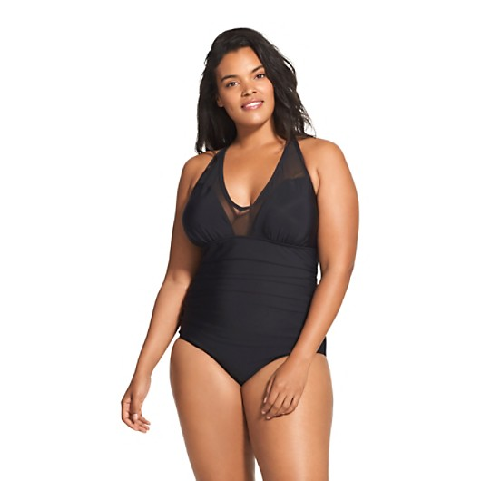 71ec61a1b4e V-Neck Mesh One-Piece | Speedo USA